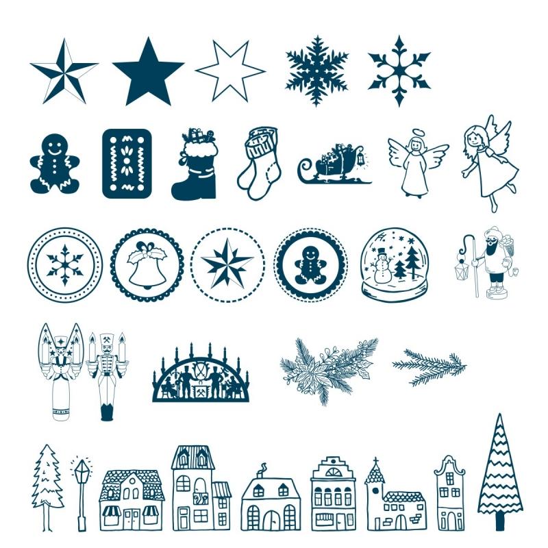 Weihnachten Symbole