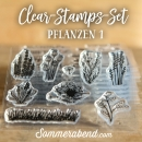 Clearstamps-Set Pflanzen 1
