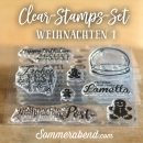 Clearstamps-Set Weihnachten 1