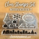 Clearstamps-Set Weihnachten 2