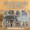 Clearstamps-Set Weihnachten 3