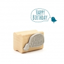 Midi-Stempel Birdy Happy birthday