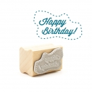 Midi-Stempel Happy birthday