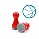 Mini-Stempel Basketball