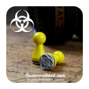 Mini-Stempel Biohazard