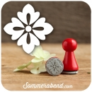 Mini-Stempel Blumenornament