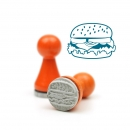 Mini-Stempel Burger