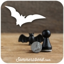 Mini-Stempel Fledermaus