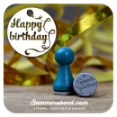 Mini-Stempel Happy Birthday!