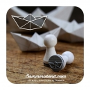 Mini-Stempel Papierboot
