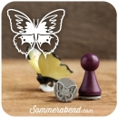 Mini-Stempel Schmetterling