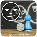Mini-Stempel Smiley neutral