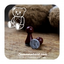Mini-Stempel Teddy