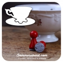 Mini-Stempel Teetasse