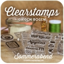 Clearstamps 10x10cm