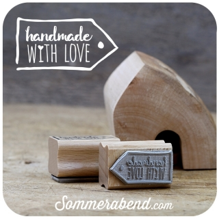 Midi-Stempel handmade with love