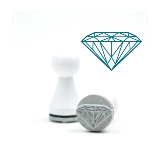 Mini-Stempel Diamant