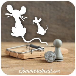 Mini-Stempel Maus