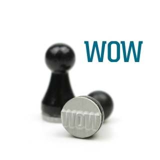 Mini-Stempel WOW