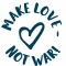 Make love - not war! M33
