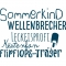 Sommerkind, Wellenbrecher... 48x36mm