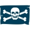 Piratenflagge/Jolly Rodgers 29x19mm