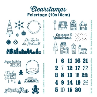 Clearstamps Feiertage (10x10cm)