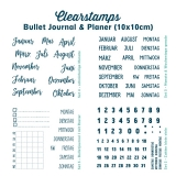 Clearstamps Bujo & Planner (10x10cm)