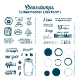 Clearstamps Selbermacher (10x10cm)